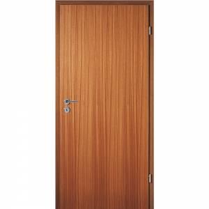 Tür, Mahagoni-Furniert, eckig, Röhrenspan, 198,5 cm