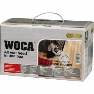 WOCA Pflegebox mit Pflegeöl, natur