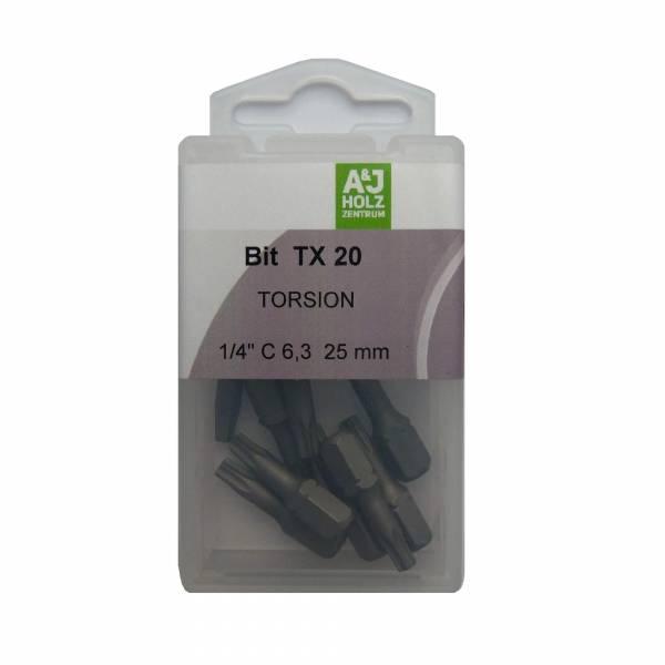 Bits A&J TX 20, 25 mm Torsion