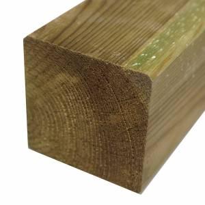 Kantholz 90 x 90 mm, Nadelholz kesseldruckimprägniert