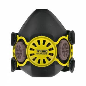 Halbmaske aus TP mit Bajonettanschluss