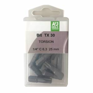 Bits A&J TX 30, 25 mm Torsion