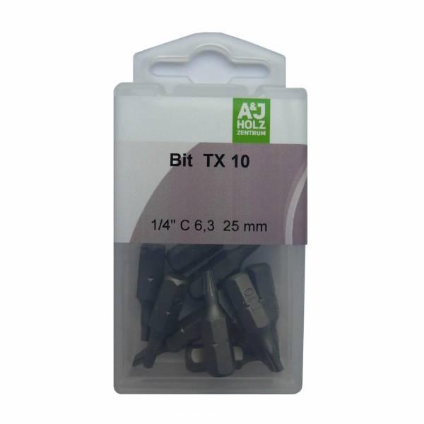 Bits A&J TX 10, 25 mm