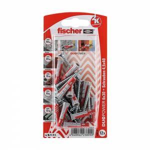 Fischer DUOPOWER 6 x 30 mm S K