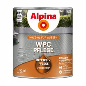 Alpina WPC-Pflege, Grau