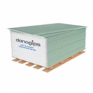 Dano-Gipskarton-Baupl. Imprägn 12,5mm