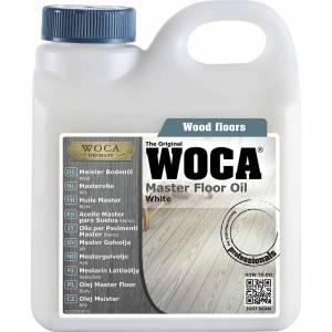 WOCA Meister - Holzbodenöl, weiß