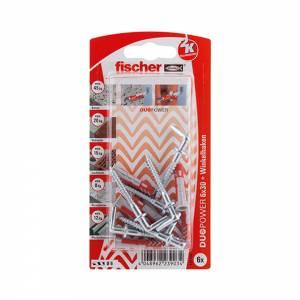 Fischer DUOPOWER 6 x 30 mm WH K