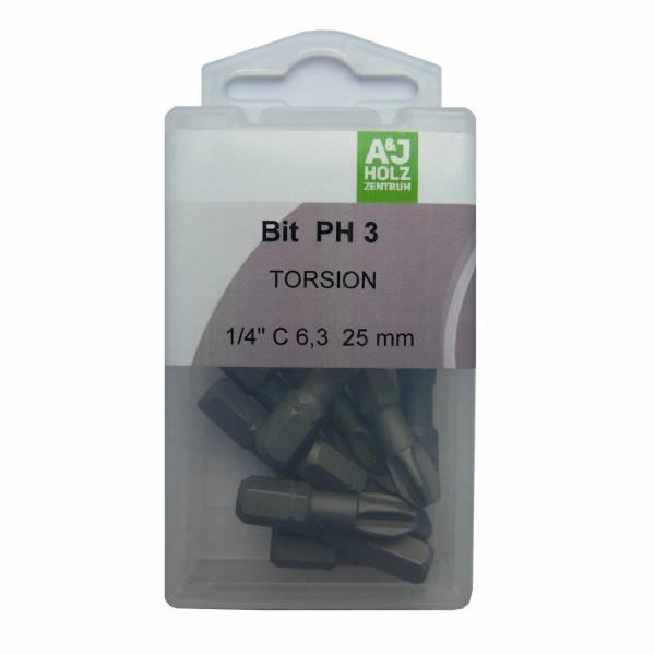 Bits A&J PH 3, 25 mm Torsion