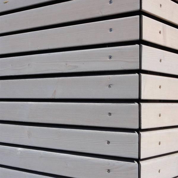 Rhombus - Fassadenleiste 27 x 68 mm