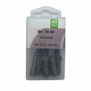 Bits A&J TX 40, 25 mm Torsion