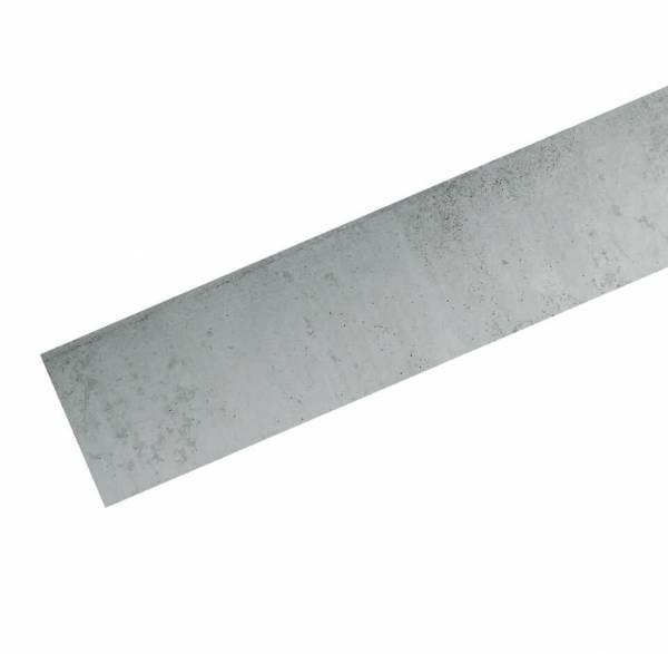 Verbindungsplatte Beton grau 25x3,5x184 cm