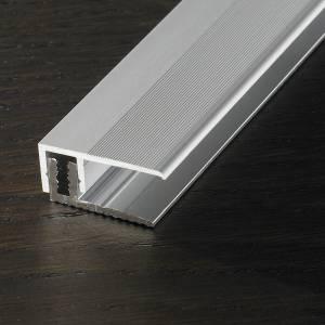 Abschlussprofil, Silber