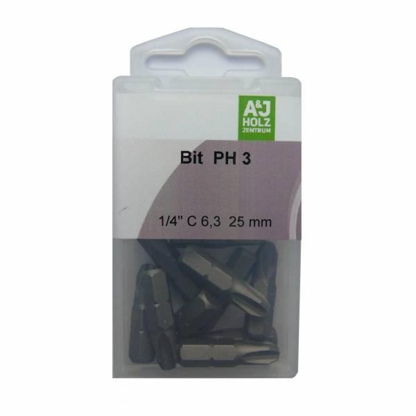Bits A&J PH 3, 25 mm