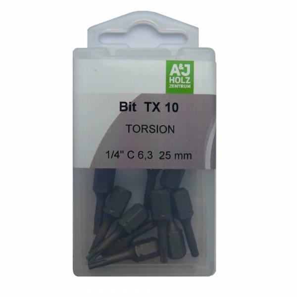 Bits A&J TX 10, 25 mm Torsion