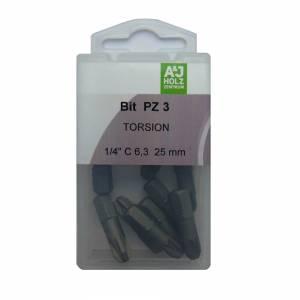 Bits A&J PZ 3, 25 mm Torsion