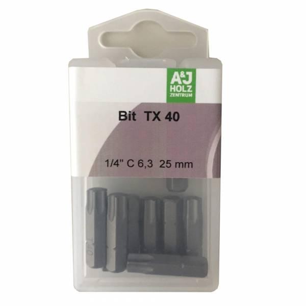 Bits A&J TX 40, 25 mm