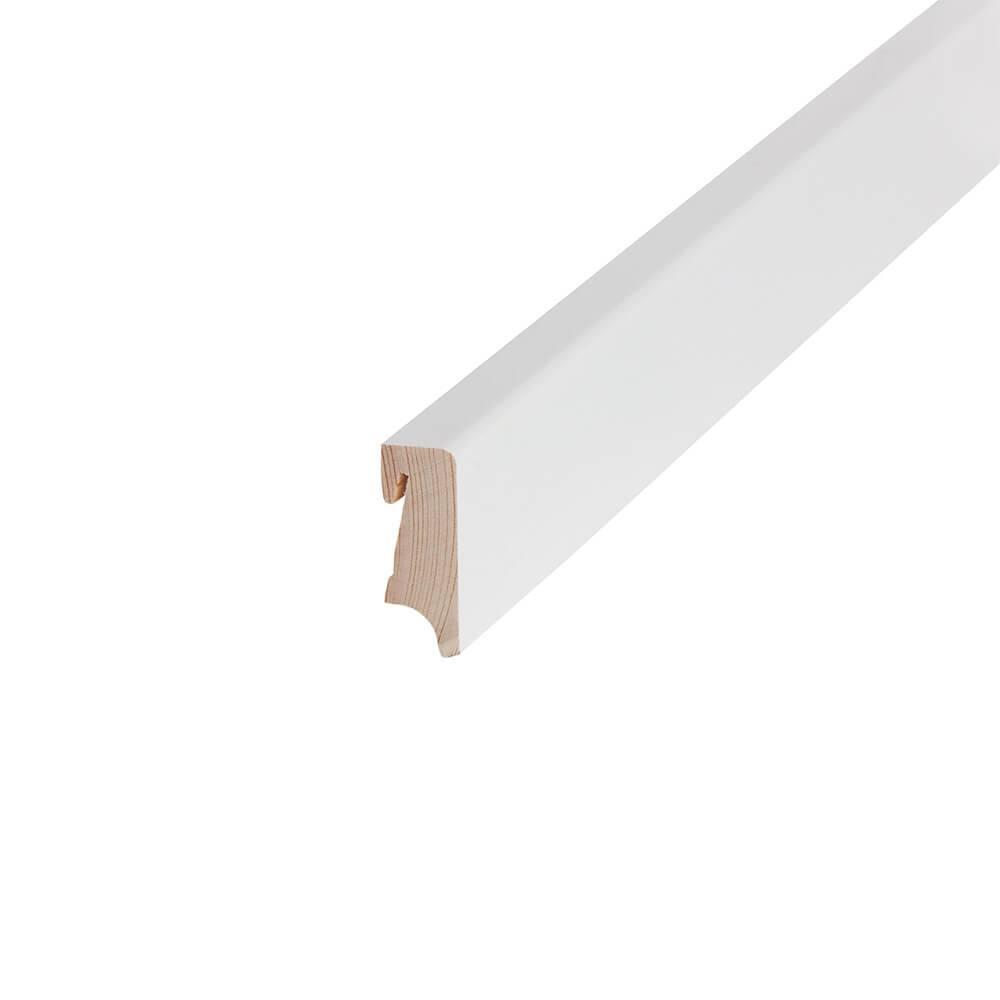 Sockelleisten ab 10 Meter SET Fußbodenleiste Zubehör Profile TOP QUALITÄT 75mm