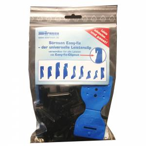 Easy Fix Clip System 13 x 35 mm