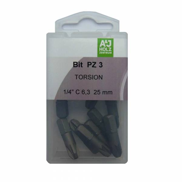Bits A&J PZ 3, 25 mm Torsion