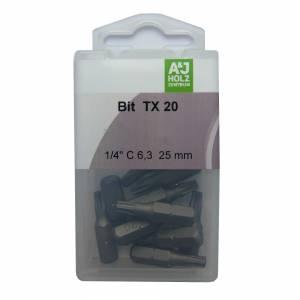 Bits A&J TX 20, 25 mm