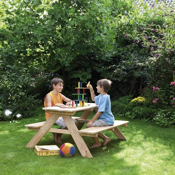 Jugend-Picknicktisch