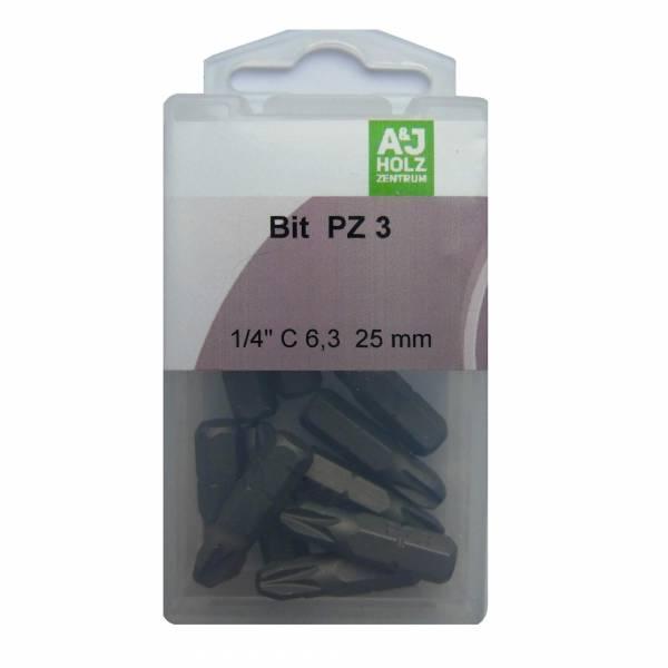 Bits A&J PZ 3, 25 mm